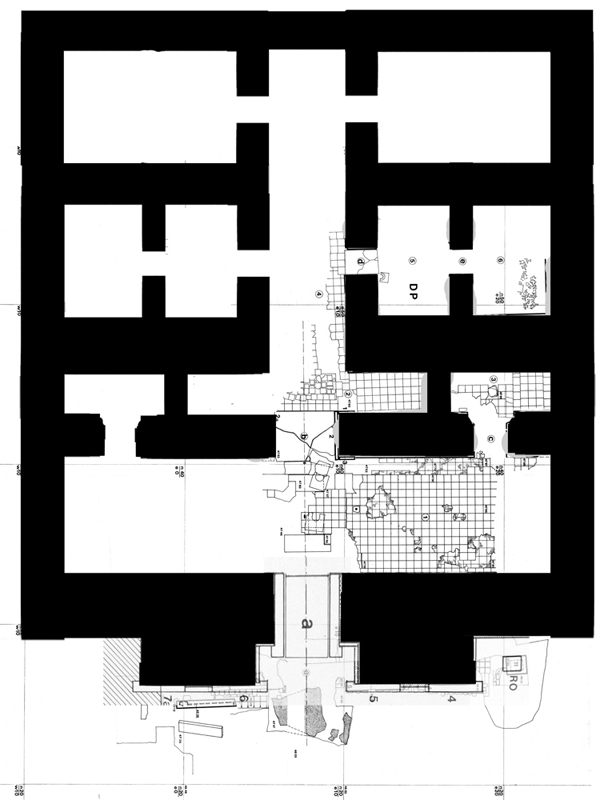 Plan of The Central or