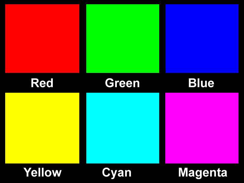 Pin Color Calibration Image Without Icc Profile On Pinterest
